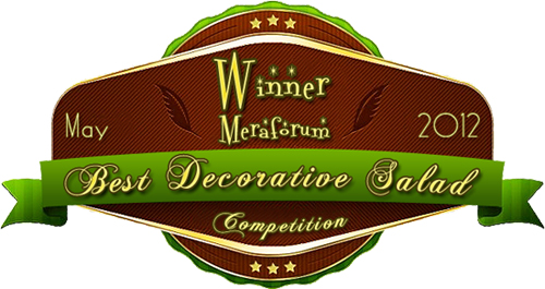 Meraforum Salad Decoration Contest winner