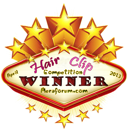 Winner Of Hair clip competition