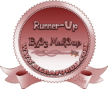 Eye makeup Runner Up