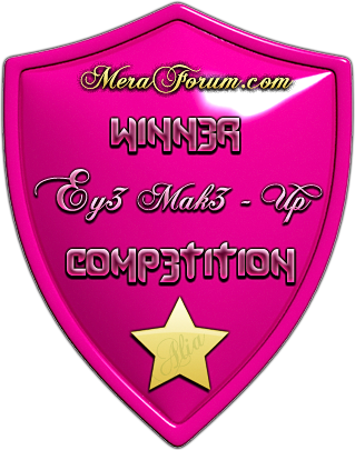 Meraforum Eye makeup winner