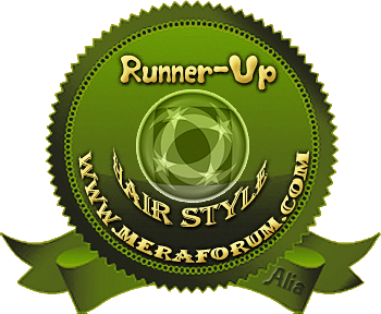 Meraforum Hair Style Boyz Runner Up award