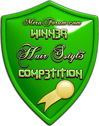 Meraforum Hair Style Boyz Winner award