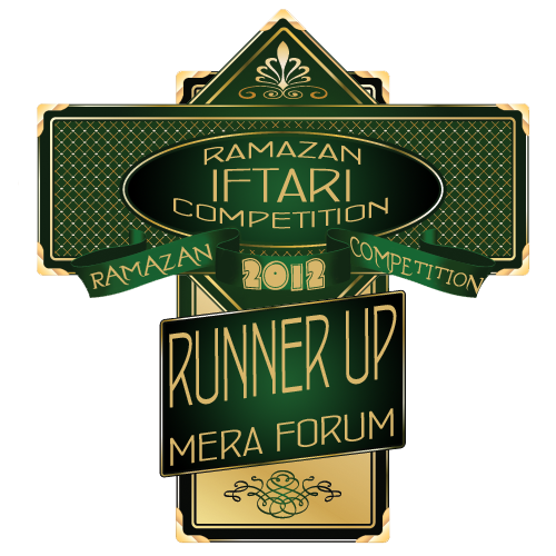 Meraforum Iftari Contest Runner up