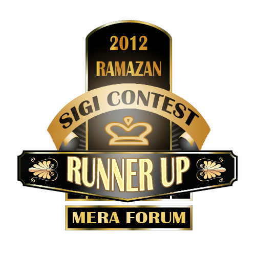 Meraforum Ramzan Siggi Contest Runner up
