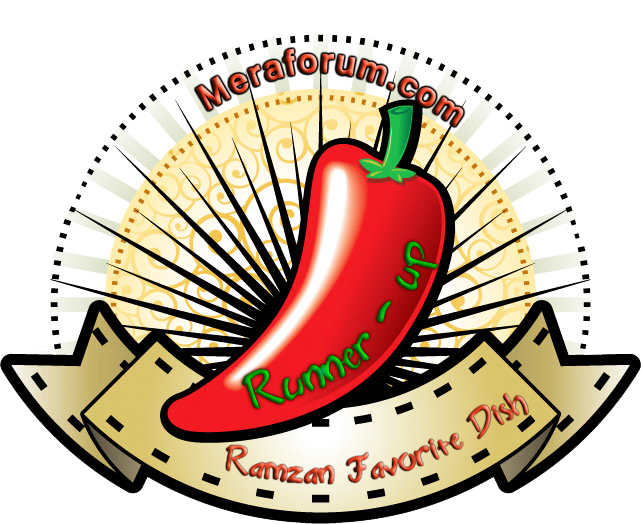 Meraforum Ramzan Fav Dish Contest runner up